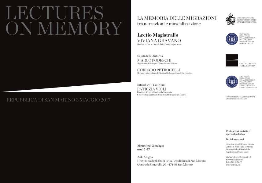 Lecture on memory 3.5.2017